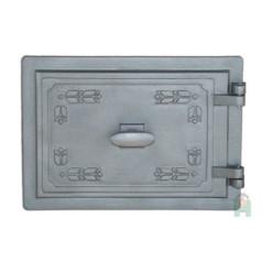 Дверца топочная с двойной заслонкой правая LD H2301
