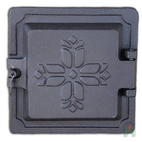 Чугунная дверца DKR2 H1702