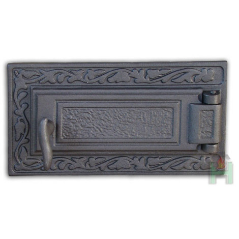 Чугунная дверца зольника DPK6 H1607