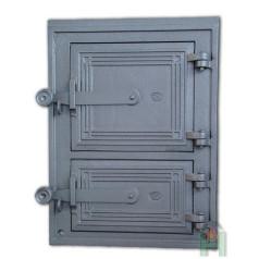 Чугунные двери для печи DPK2W H1603