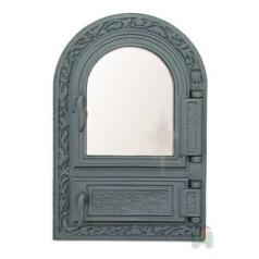 Дверца со стеклом и зольником FPM1 H0308
