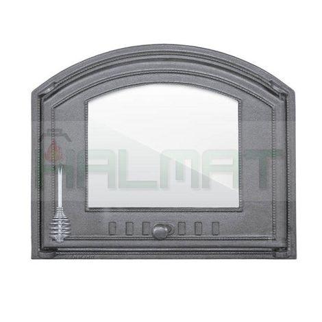 Дверца со стеклом правая DCHS4 H1206