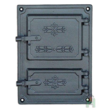 Дверца топки с люком для золы DPK4 H1605