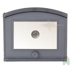 Дверца со стеклом и термометром левая DP1T H1803