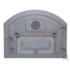 Дверь с дополнительной дверцей правая Пицца 2 H2202