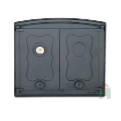 Дверца двустворчатая с термометром БАТУМИ II H3502