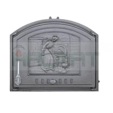 Дверца глухая правая ХОЗЯЮШКА DCHS2-P H1210