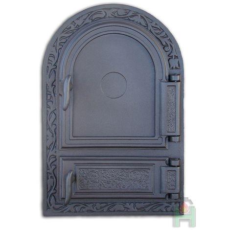 Дверца печки правая с зольником DW10 H1510