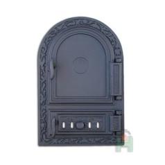 Дверца правая с зольником и шибером DW10R H1511
