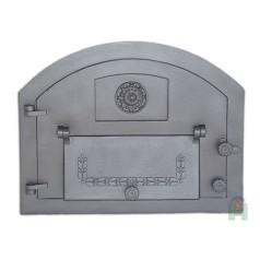 Дверь с дополнительной дверцей левая Пицца 1 H2201