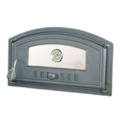 Дверца со стеклом с термометром правая DCH4T H1008
