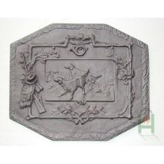 Чугунная плита Охотничьи собаки H0516