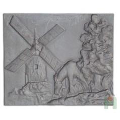 """Чугунная плита """"Ветряная мельница"""" H0512"""