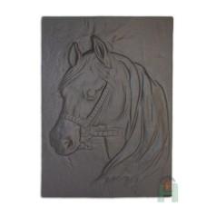 Чугунная каминная плита Лошадь H0508
