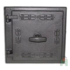 Дверца топочная с двойной заслонкой левая LМ H2302