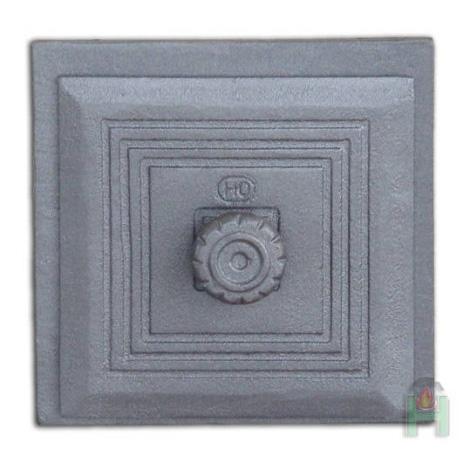 Чугунная дверца зольника H1701DKR1
