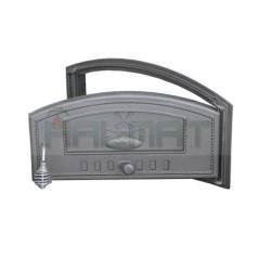 Дверца чугунная глухая правая DCH2-P H1010