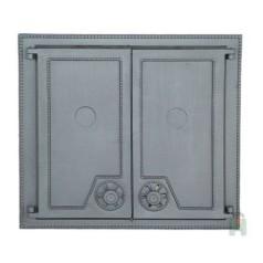 Дверца двустворчатая глухая DW6 H1506