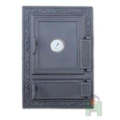 Дверца с зольником и термометром DW12T H1523