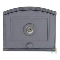 Дверца глухая с термометром правая DP4T H1808