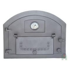 Дверь с дополнительной дверцей и термометром левая Пицца 1T H2203