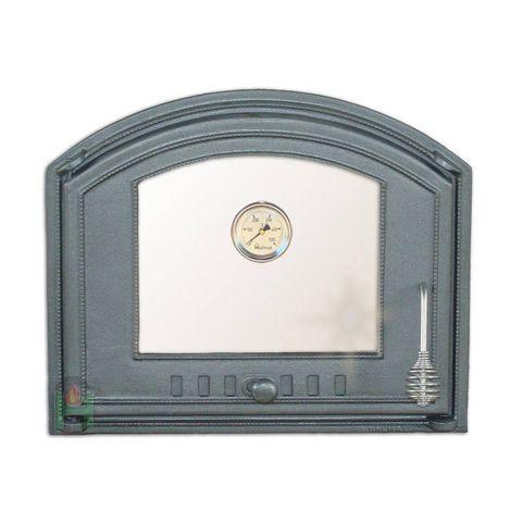 Дверца со стеклом и термометром левая DCHS3T H1207