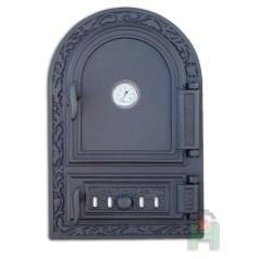 Дверца с регулируемым зольником и термометром DW10RT H1521