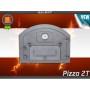 Дверь с дополнительной дверцей и термометром правая Пицца 2T