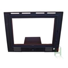 Дверца под стекло с зольником FPL2 H0322