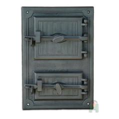 Герметичная чугунная дверь H3601
