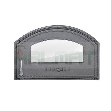 Дверца со стеклом правая DCHD4 H1306