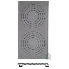 Чугунная плита Р10 700x340 H2610
