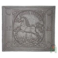 "Чугунная плита ""БРАУНШВЕЙГСКИЙ ГЕРБ 1722"" H0510"