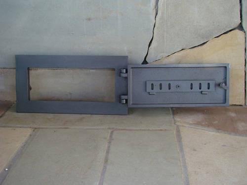 H1609 - Чугунная дверца зольника