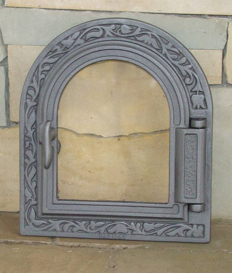 H1611 - Дверца для печки со стеклом