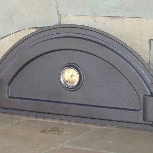 H2214 - Чугунная дверца для пиццы с термометром PIZZA 7T