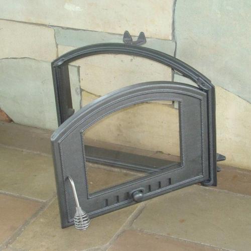 H1206 - Дверца со стеклом правая