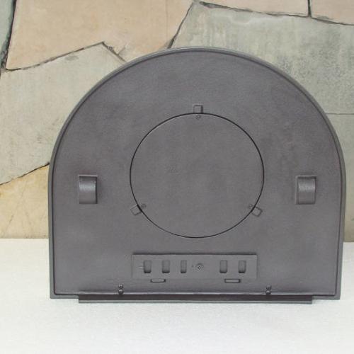 H2209 - Чугунная дверца для пиццы глухая Пицца 5