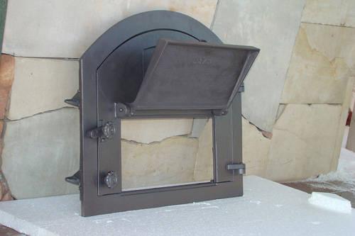 H2204 - Дверца с дополнительной дверцей и термометром правая Пицца 2T