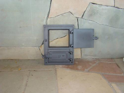 H1603 - Чугунная дверца для печи