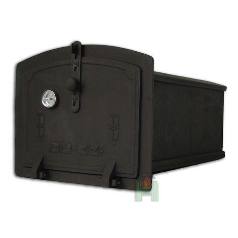 H1902 - Духовка чугунная с термометром