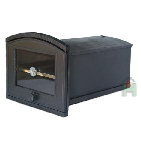 H1908 - Духовка со стеклом, термометром и внутренней полкой