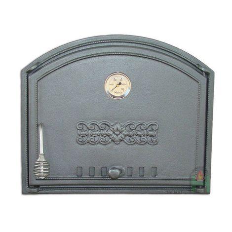 H1204 - Дверца глухая правая с термометром