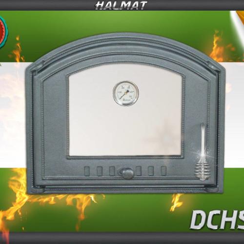 H1207 - Дверца со стеклом и термометром левая