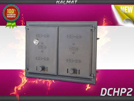 H1102 - Дверца двустворчатая глухая с термометром