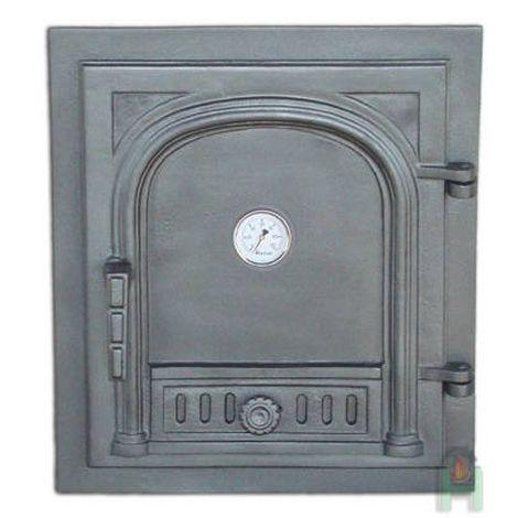 H1525 - Дверца с термометром глухая правая