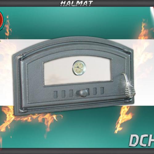 H1007 - Дверца левая со стеклом и термометром