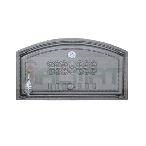 H1004 - Дверца с термометром глухая правая