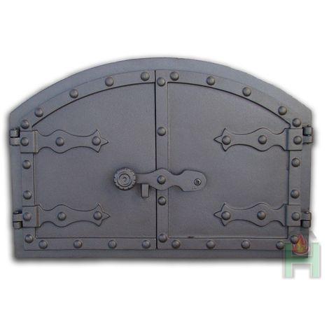 H2101 - Чугунная дверца печки Венгерская