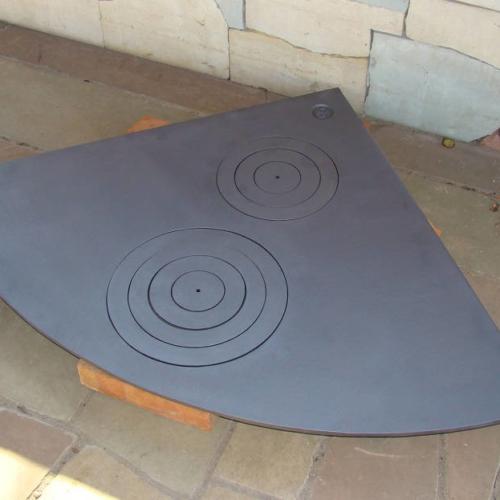 H2644 - Плита угловая двухконфорочная R-900